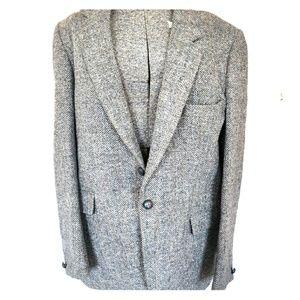 Vintage Wool Duun & Co Harris Tweed Blazer 42R